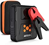 Meterk Car Battery Jump Starter Pack with Air Compressor Portable 15V Battery Booster Charger for Automobiles 1000A Peak 12000mAh(up to 7.0L Gasoline, 5L Diesel Engine) Emergency Power Bank for Car