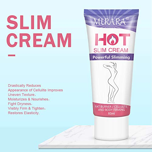 Anti Cellulite Cream,Slimming Cream, Hot Cream - Belly Fat Burner for Women and Men - Deep Tissue Massage & Muscle Relaxer for Thighs, Legs, Abdomen, Arms and Buttocks, for Body Sculpting 7