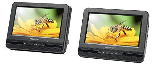 "17,78cm (7"") Tragb. Twin DVD-Player MEDION® LIFE® P72022 (MD 84873) (B-Ware)"