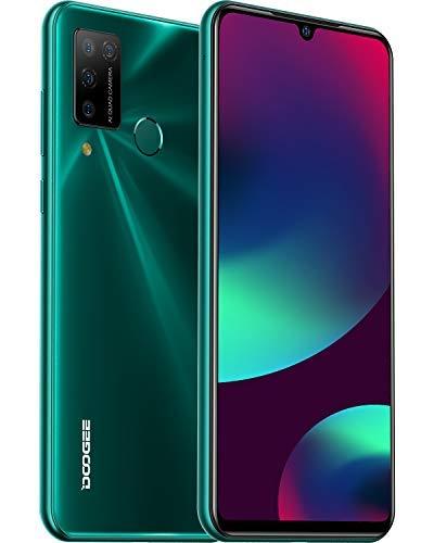 DOOGEE N20 Pro 6/128GB, Écran 6,3 Pouces, Android 10.0, 4G, Dual SIM, 4400mAh, Capteur Empreinte, Face ID - Vert