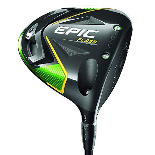 Callaway Womens Epic Flash Driver, Left Handed, 12 degrees, Graphite, 4.0 (Ladies) (Renewed)