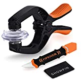 Showpin Smart Phones Suction Cup Tool Opening Pliers Repair LCD Screen, 3 in 1 iPhone Repair Tool Prying Tool Compatible with Cell Phone/Laptop/Tablet PC