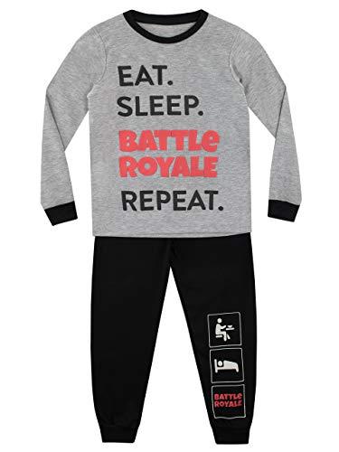 Character UK Pijama para Niños Battle Royale 10-11 Años