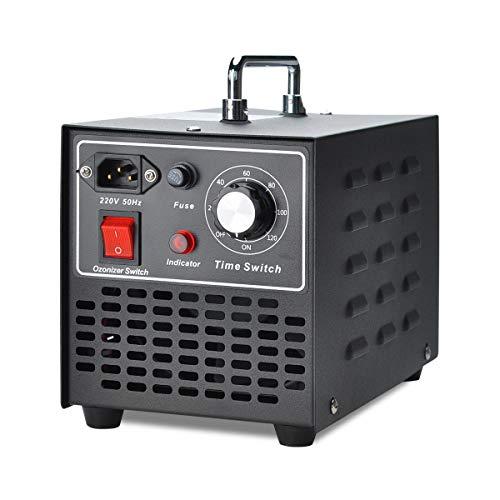COVVY Generatore commerciale dell'ozono,sterilizzatore mobile del purificatore dell'aria della macchina dell'ozono O3,per la casa,cucina,ufficio,hotel,automobile,barca,ristorante,deposito (10000mg/h)