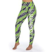 88% polyester 12% Spandex Screen-printed team name and logo Sublimated diagonal streaks in team colors Wide stretch band waist with Zubaz logo Officially licensed by the NFL