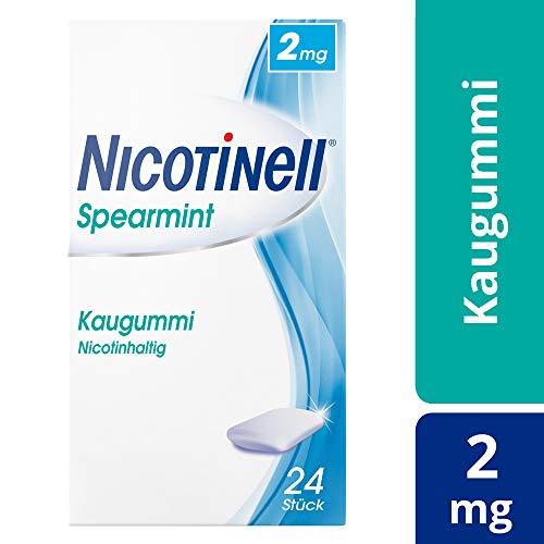 NICOTINELL Spearmint 2 mg Kaugummi 24 St