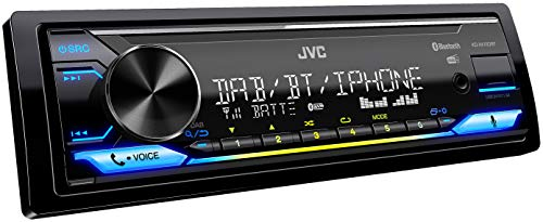 JVC KD-X472DBT USB-Autoradio mit DAB+ und Bluetooth Freisprecheinrichtung...