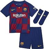Nike FCB I Nk BRT Kit Hm Football Set, Unisex niños, Deep Royal Blue/(Varsity Maize) (Full Sponsor), 18-24M