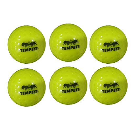 TEMPEST Hockey Hollow Ball - Pack of 1 Ball(Yellow)