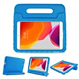 ProCase Kids Case for iPad 7th Gen 10.2' 2019 / iPad Air 10.5' (3rd Gen) / iPad Pro 10.5', Shockproof Convertible Handle Stand Cover Light Weight Kids Friendly Case for iPad 10.2 Inch/Air 3 -Blue
