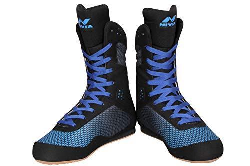 Nivia Boxing Shoe Blue/Black