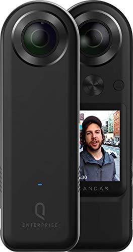 QooCam 8K Enterprise Kandao Technology 8K VRライブ配信カメラ 最速の5G 8K VRライブソリューション 屋外のライブ配信に最高峰の360°VRカメラ