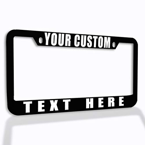 Speedy Pros Funny License Plate Frame Custom...