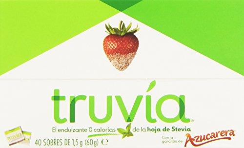 Truvia Endulzante 0 Calorías de La Hoja de Stevia, 40 Sobre