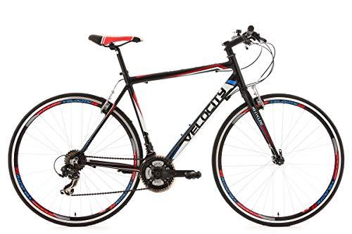 """KS Cycling Fitnessbike Alu-Rahmen 28"""" Velocity 21-Gänge schwarz RH56cm"""