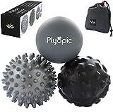 Plyopic Balles de Massage Lot de 3 Boules Haute densité pour Le...