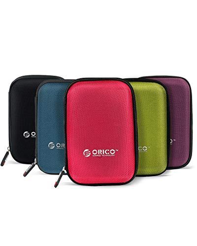 ORICO Custodia Protettiva per Disco Rigido 2,5 pollici - HDD Hard Disk Externo Portatile Western...