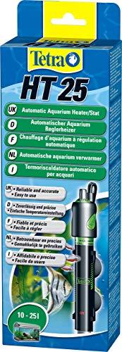 Tetra HT Reglerheizer - leistungsstarker Aquarienheizer zur Abdeckung unterschiedlicher Leistungsstufen mit Temperatureinstellknopf, versch. Größen