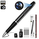 Hidden Camera - Mini Spy Camera 1080p HD Spy Cam Pen 2.5 Hours Video Taking Battery Life with 32GB Memory for Business Conference and Security