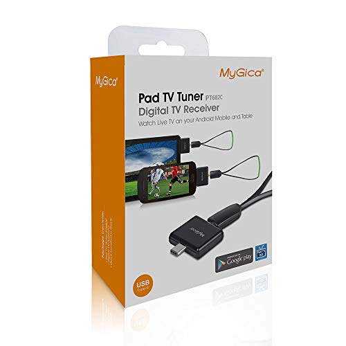 MyGica tv Tuner for Watching ATSC Digital TV Anywhere You go with Android Mobile or Pad (PT682C)