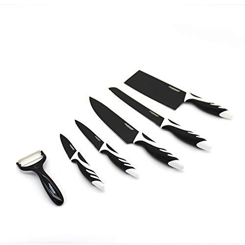 Coltelli cucina set coltelli da cucina set coltelli cucina ceramica set 5 pezzi e pelapatate set coltelli cucina in ceramica e manico antiscivolo coltelli da cucina coltello