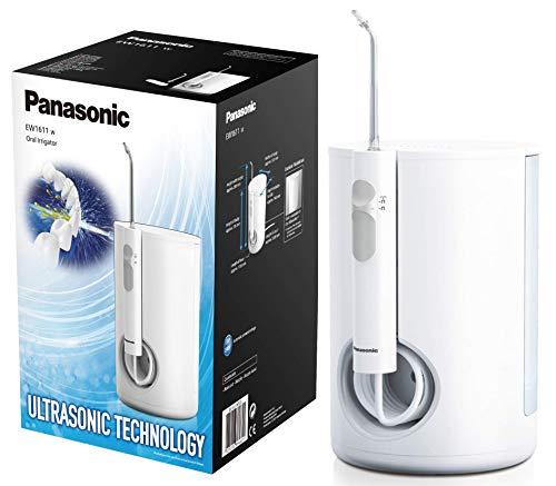 Panasonic - Personalcare EW1611W503   Jet dentaire - Technologie ultrasonique 10 puissances réglables 1 canule Sans fil Réservoir de 600 ml Temps d'tulisation: 115 sec Blanc