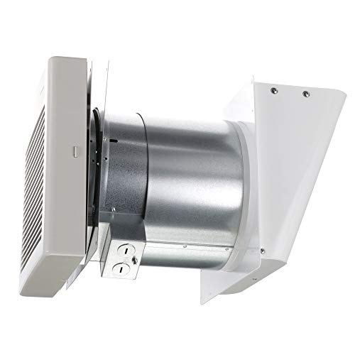 Panasonic FV-08WQ1 WhisperWall Ventilation Fan, Quiet Air Flow, Long Lasting, Easy to Install, Code Compliant, Energy Star Certified, White