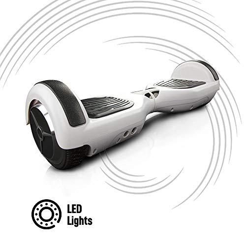 ACBK - Scooter Elettrico Hover Autobilanciato Basic con Ruote da 6.5'' (Luci a LED Integrate)...