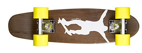 "Ridge Skateboards Complete 55cm Maple Wooden Retro 22"" Mini Cruiser Board"