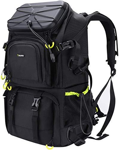 Endurax Zaino Fotografico Grande per PC 15,6 e 2 DSLR 4 Obiettivi Zaino Fotocamera Reflex Trekking Professionale