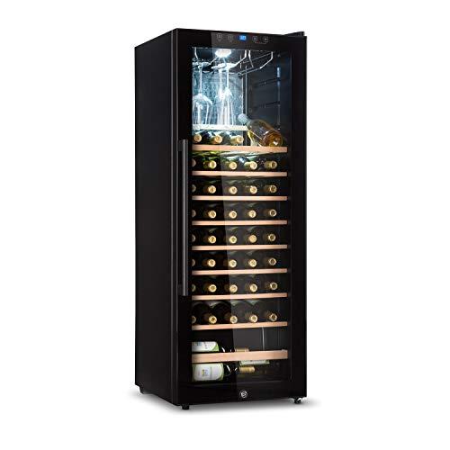KLARSTEIN Barossa - Cantinetta Vini, Refrigeratore Vini con Porta in Vetro, Vetrina Vino, 5-18 C,...
