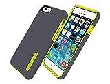 Incipio Dualpro Case for Apple iPhone 6/6S - Gray/Yellow (Bulk Packaging)