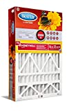 BestAir HW1625-11R Air Cleaning Furnace Filter, 16' x 25' x 4', MERV 11, Removes Allergens & Contaminants, For Honeywell Models, 3 Pack