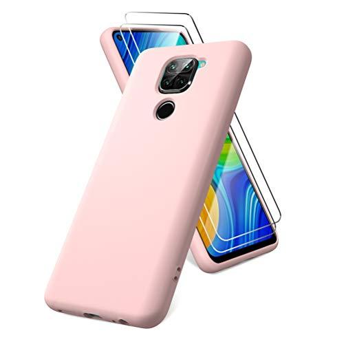 Oududianzi Funda para Xiaomi Redmi Note 9, Protector Pantalla...