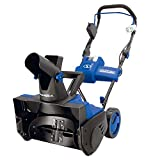 Snow Joe iON18SB 40-Volt iONMAX Cordless Brushless Single Stage Snowblower Kit   18-Inch   W/ 4.0-Ah Battery and Charger