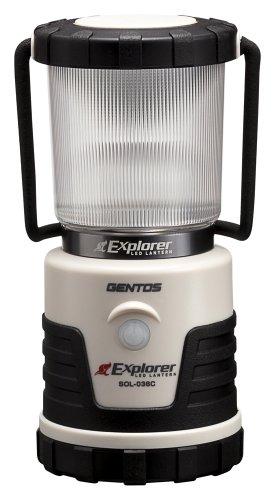 GENTOS(ジェントス) LED ランタン 【3色切替/明るさ380ルーメン/連続点灯14時間/防滴】 エクスプローラー S...
