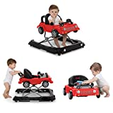 Jeep Classic Wrangler 3-in-1 Grow with Me Walker, Red