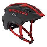 Scott 275232 Casque de vélo Unisexe pour Enfant, Gris/RD RC, 1 Taille