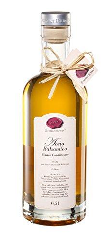 Gourmet Berner, Aceto Balsamico Bianco Condimento Essig 0,5l
