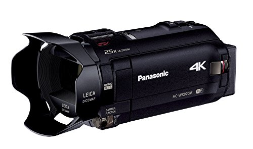 Panasonic 4Kビデオカメラ WX970M ワイプ撮り 軽量447g ブラック HC-WX970M-K