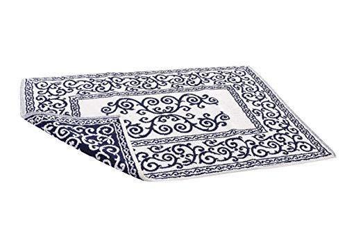 HomeLife - Tappeto Bagno Rettangolare in Cotone [Dimensioni: 60x120] - Scendi Doccia Alta Qualita...