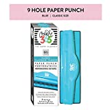 Me & My Big Ideas Punch - The Happy Planner Scrapbooking Supplies - 9 Hole Paper Punch for Disc-Bound Planners - Punch Your Own Paper to Include in Your Planner - Classic Size