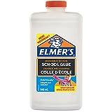 Elmer'S Colla Vinilica per la Scuola, Lavabile, Ottima per Realizzare Slime, Bianco, 946 ml, 1 Pezzo