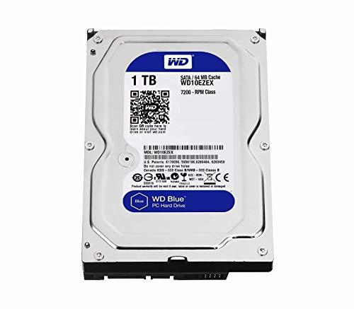 Wester Digital WD10EZEX HDD Interno da 1 TB, Connettività: SATA, Dimensioni: 3.5', Argento