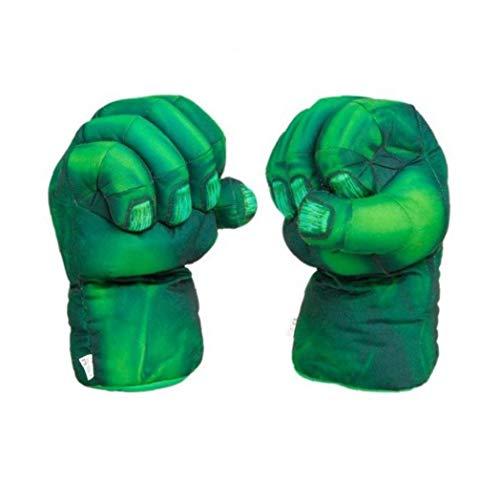 2 / Divertente Costume Supereroi per Guanti Rossi del Partito Hulk Spider-Man guantoni da Boxe...