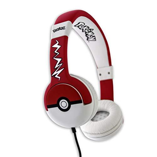 Casque Audio Pokémon Pokeball OTL Technologies Rouge et Blanc, O-PK0517
