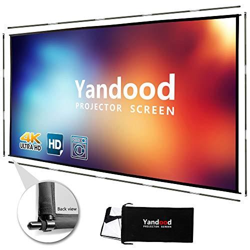Yandood Portable Projector Screen 100 inch