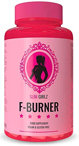 Slim Girlz Fat-Burner/Brûleur De Graisse EXTRÊME Végan Femmes/BIOLOGIQUE/Perte de Poids Sans Sport/Coupe-Faim Naturel/100 Gélules Minceur/Régime KETO/ANTI-CELLULITE/ANTI-GRIGNOTAGE/+NUTRITIONNISTES