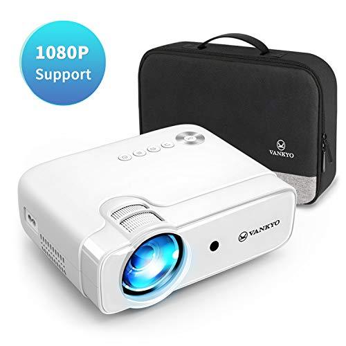vankyo Proiettore, Videoproiettore 4500 Lumen con 236' Display, Supporta 1080P, HiFi Speaker, con...