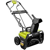 Ryobi 20 in. 40-Volt Single-Stage Brushless Cordless Snow Blower, Bare Tool, (No Retail Packaging) (Renewed)